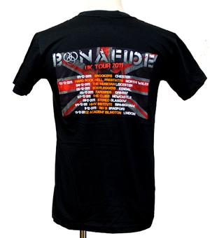 BONAFIDE - T-SHIRT, UK TOUR 2011