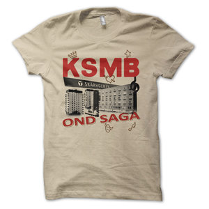 KSMB - T-SHIRT, OND SAGA