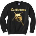 Candlemass - Gold Skull Sweatshirt