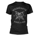 WILDHEARTS, THE - T-SHIRT, ENGLAND 1989