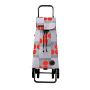 Rolser 2+2 Logic Imax Logos - Shoppingvagn - 4 hjul, Röd