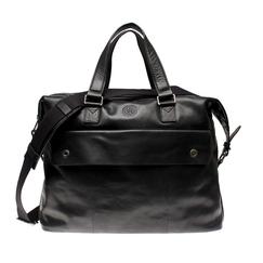 SDLR Teddington - Väska i genuint läder, Mid.Brown