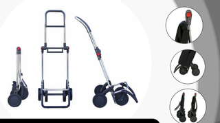 Rolser 2+2 Logic Cuadro - Shoppingvagn - 4 hjul