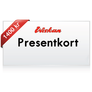 Presentkort 1400 kr