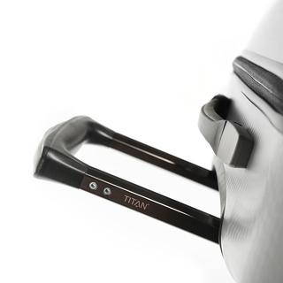 Titan Xenon Deluxe - 67+55 cm - 4 hjul, Silver