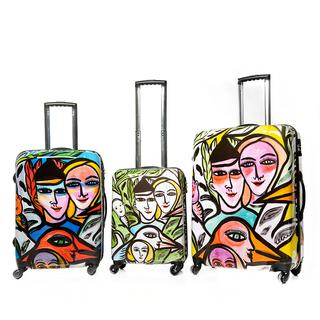 Romance - Set med 3 resväskor - Design Ulrica Hydman Vallien