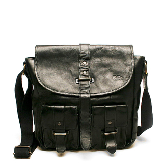 RE: Messenger bag, Svart