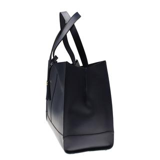 Boomerang - Handväska i genuint läder, Svart