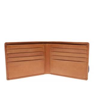 Boomerang Tan - Plånbok i genuint läder