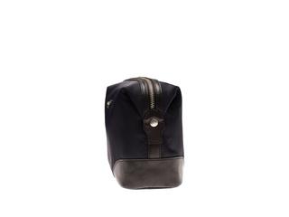 Morris - Necessär i nylon med detaljer i läder