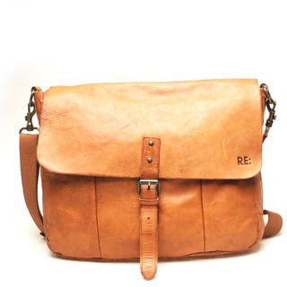 RE: Messenger bag, Mörkbrun