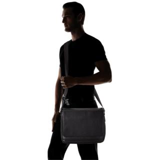 Hugo Boss - Dollar Messenger - Axeläska i läder
