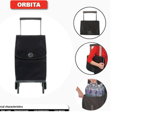 Rolser Plegamatic Gloria - Shoppingvagn - 2 hjul