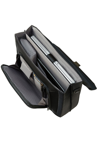 SAMSONITE, Ergo-Biz Briefcase, Svart