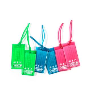 EPIC Bagagetag - Tre färger
