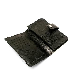 SDLR Wagell - Plånbok i genuint läder, Svart