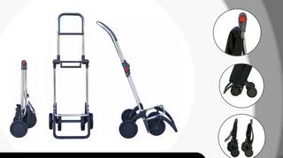 Rolser 2+2 Logic Savanna - Shoppingvagn - 4 hjul