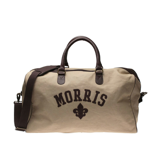 Morris - Weekendbag i canvas, Sand