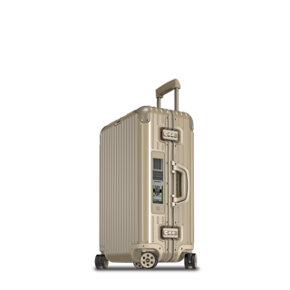 RIMOWA TOPAS TITANIUM MULTIWHEEL ELECTRONIC TAG 69 CM