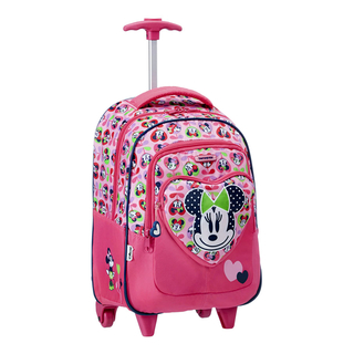 Disney Wonder - Backpack with Wheels Minnie Love