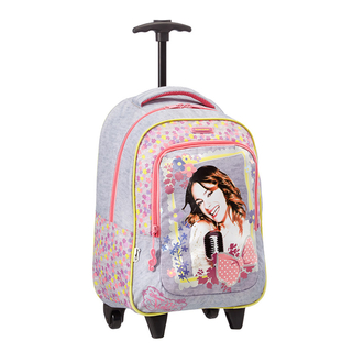 Disney Wonder - Backpack with Wheels Violetta Music