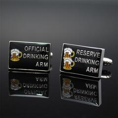 Manschettknappar Drinking Arm