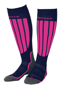 Compression Skiing Cerise/Navy