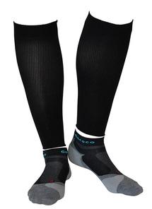 Compression Calf Sleeves och Light Sport Kit Svart