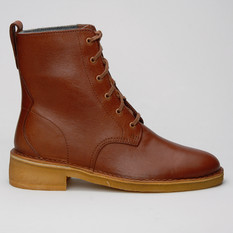 Clarks Maru Mali Leather Tan