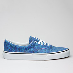 Vans U Era (Liberty) Blue/Floral Stripe