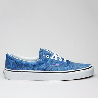 Vans U Era (Liberty) Blue/Floral Stripe