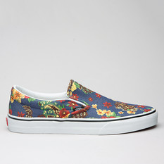 Vans Slip-On (Aloha) Dress Blue