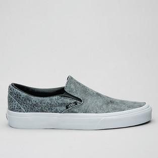 Vans Slip-On (Pebble Snake) Gray/Blk