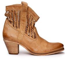 Koah Edwina boots Cream Nobuck Leather