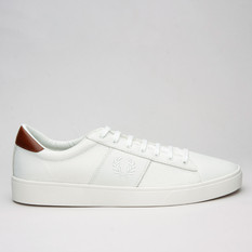 Fred Perry Spencer Mesh/Leather  Porcela