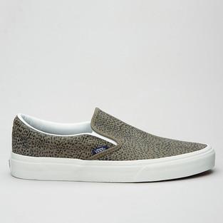 Vans Slip-On Cheetah Suede Black/Tan