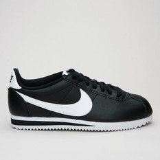 Nike Wmns Classic Cortez Lthr Black/Whit