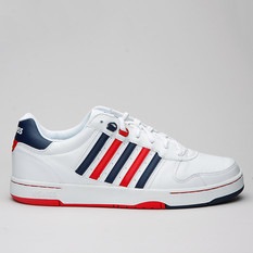 K-Swiss Jackson Wht/Navy/Red