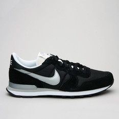 Nike Internationalist Black/Metallic Sil