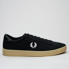 Fred Perry Spencer Canvas Black