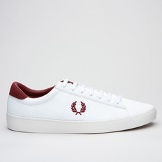 Fred Perry Spencer Mesh White/Port