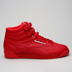Reebok F/S Hi Og Lux Red/Grey/Gold