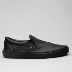 Vans Classic Slip-On Premium Leather Blk