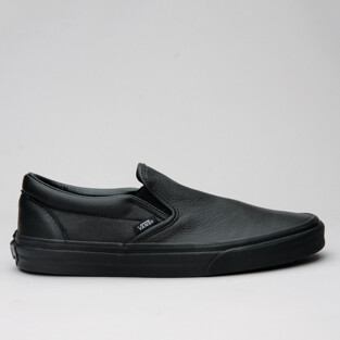 Vans Classic Slip-On Premium Leather Blk