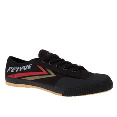 Feiyue Lo Male Canvas Blk Brown/Red
