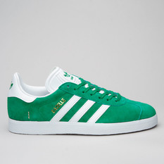 Adidas Gazelle Green/White/Goldmt