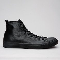 Converse All Star Hi Mono Leather Black