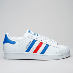 Adidas Superstar Ftwwht/Blue/Red