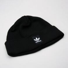 Adidas Rib Logo Beanie Black