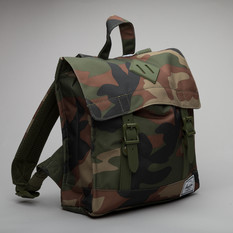 Herschel Bagpack Survey Camo/Black Rubbe